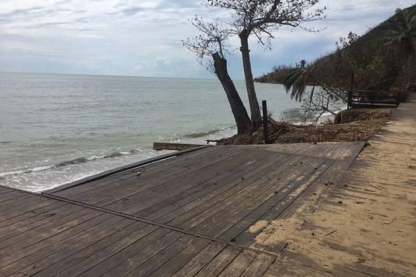 erosion costera/ añasco