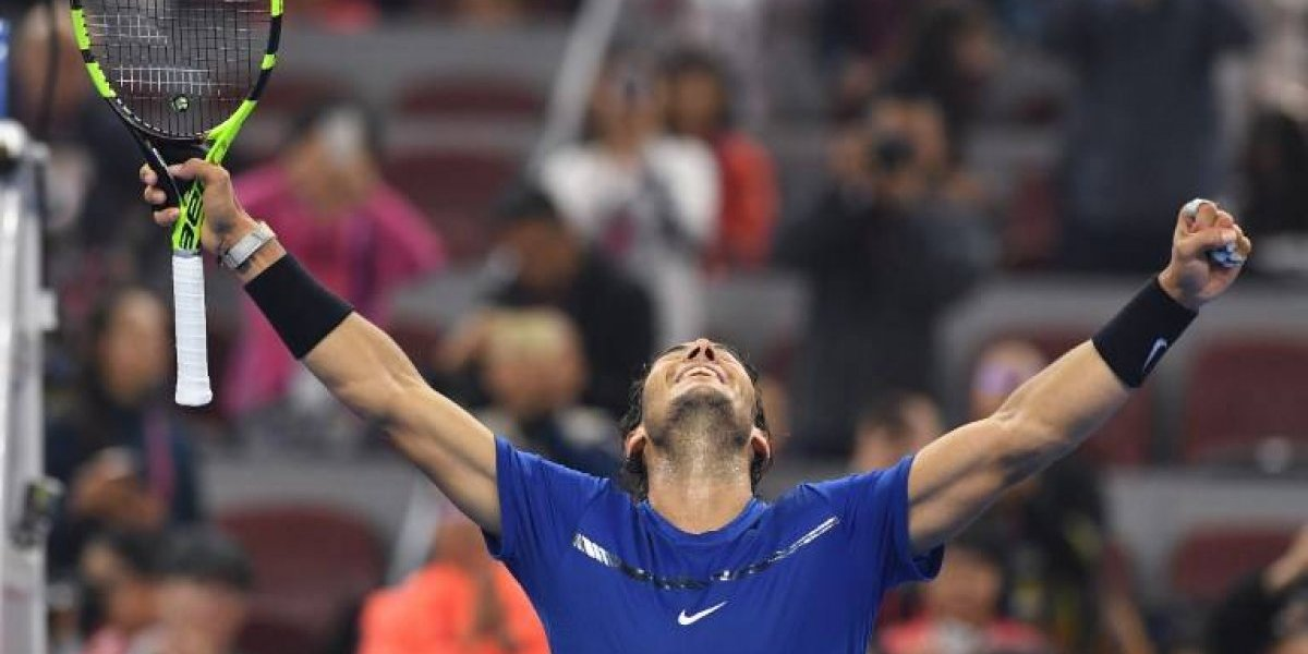 Rafa Nadal no tiene rivales en el circuito y suma una nueva final en Beijing