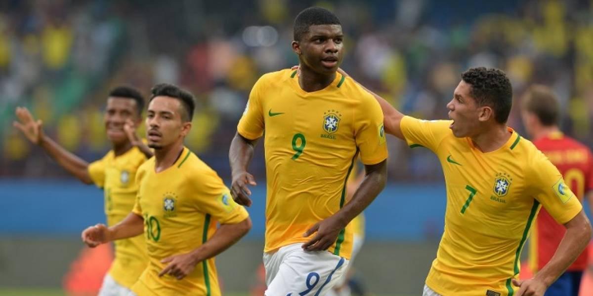 Brasil potencia del fútbol: El scratch venció a España y es favorito en el Mundial Sub 17