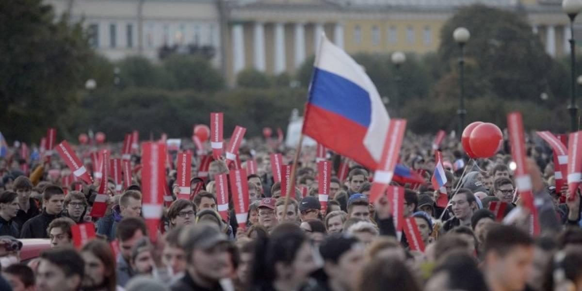 Al menos 200 detenidos: La oposición rusa intenta estropearle el 65 cumpleaños a Putin