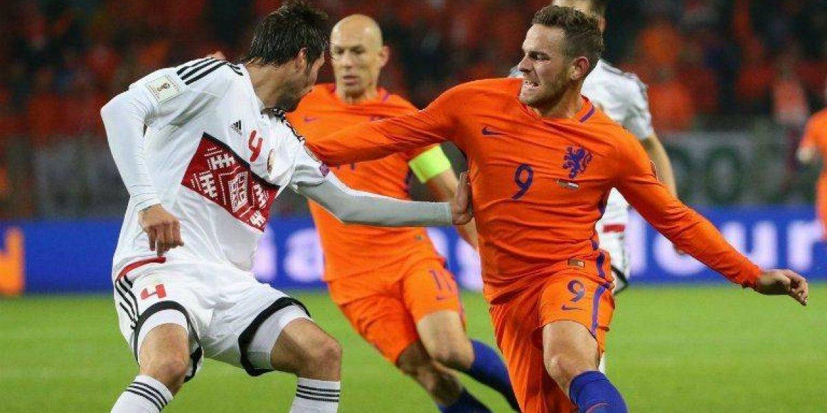 Holanda gana pero está virtualmente eliminada de Rusia 2018