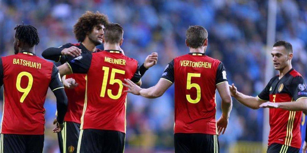 Bélgica gana una guerra de goles y deja a Bosnia & Herzegovina al borde del abismo