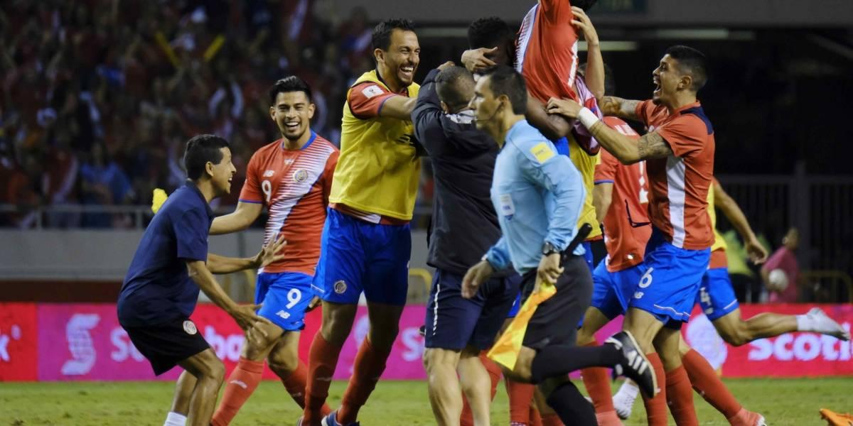 Costa Rica se va a Rusia y le da vida a Panamá para llegar al Mundial