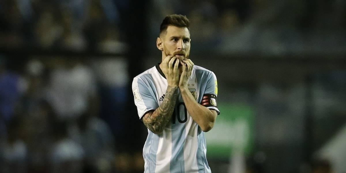 VIEO: Narrador pierde la calma y ataca a Messi por no poder anotarle a Perú