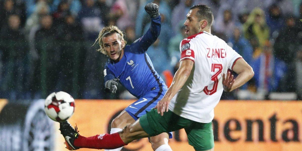 Francia triunfa ante Bulgaria y está a un paso del Mundial