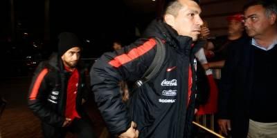 La llegada de la Roja a Sao Paulo / Foto: Agencia UNO