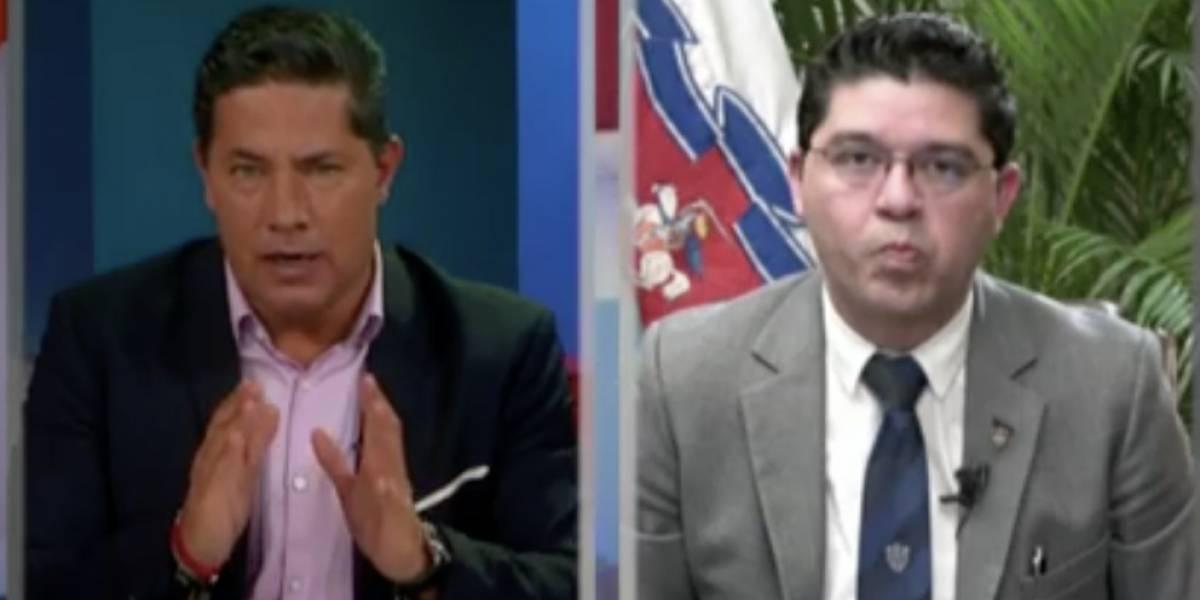 VIDEO. Las respuestas de Carlos Sandoval a Fernando del Rincón