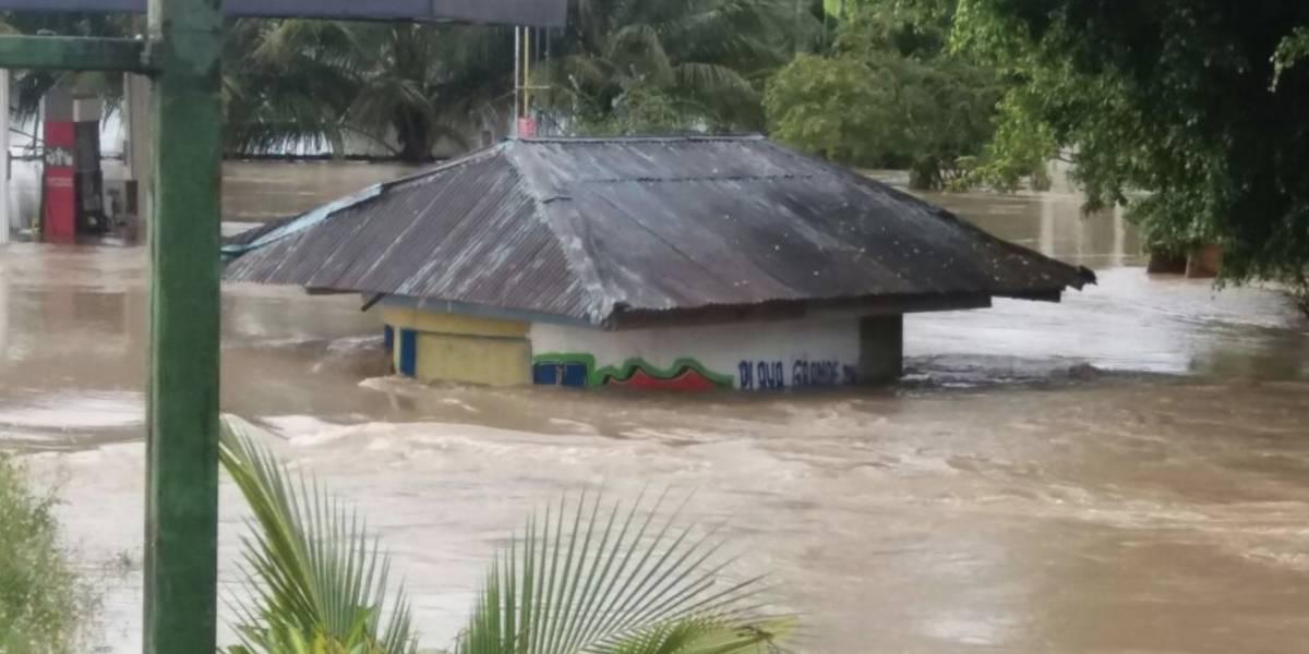 ¡Impactante! Alta Verapaz bajo el agua tras el desborde del río Chixoy