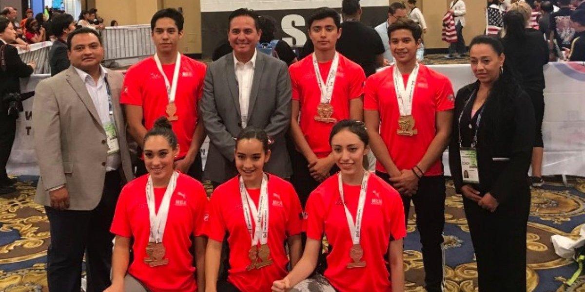 Mexicanos obtienen 11 medallas en Copa Presidente de Taekwondo