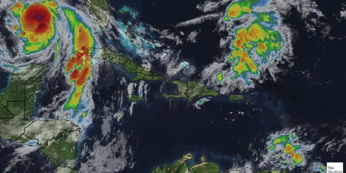 Pronostican aguaceros por vaguada; seis provincias en alerta verde