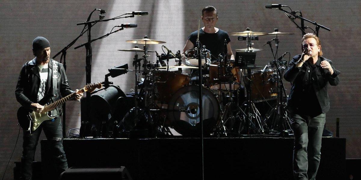 Seguridad en el Campín durante el concierto de U2