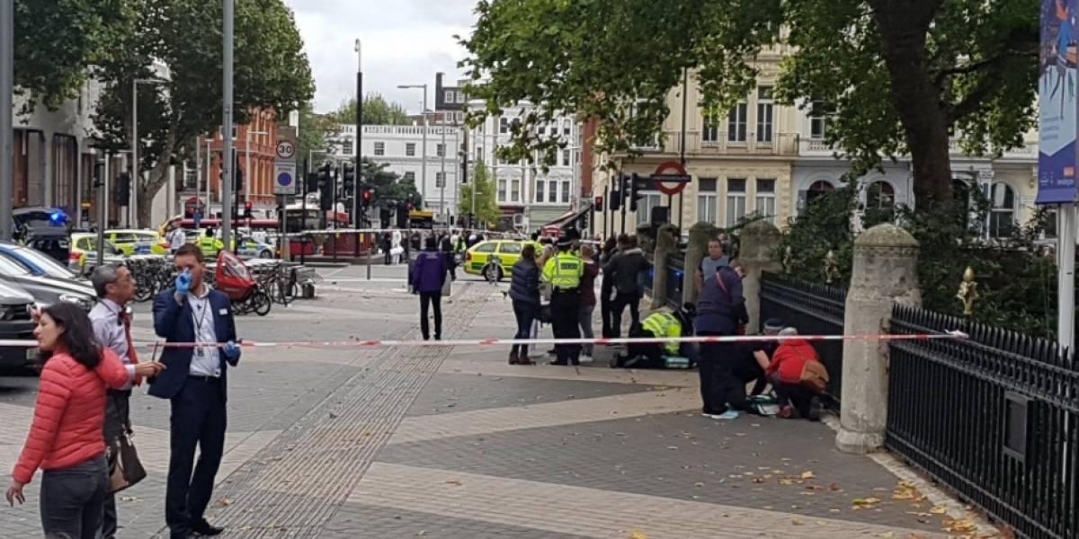 Varios heridos en la entrada del Museo de Historia Natural de Londres