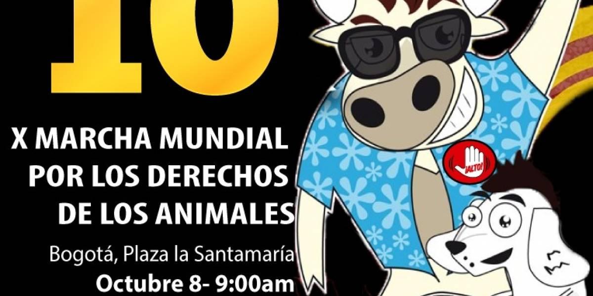 Mañana se realizará la Marcha Mundial por los Derechos de los Animales y la Defensa del Planeta