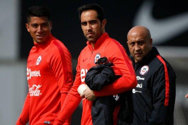 """""""La ilusión está intacta"""", estableció el capitán de la Roja Claudio Bravo / Foto: Photosport"""