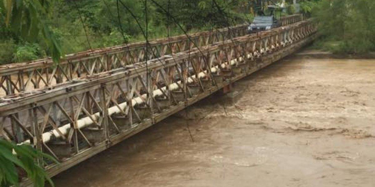 VIDEO. Río en Zacapa está cerca de sobrepasar los puentes