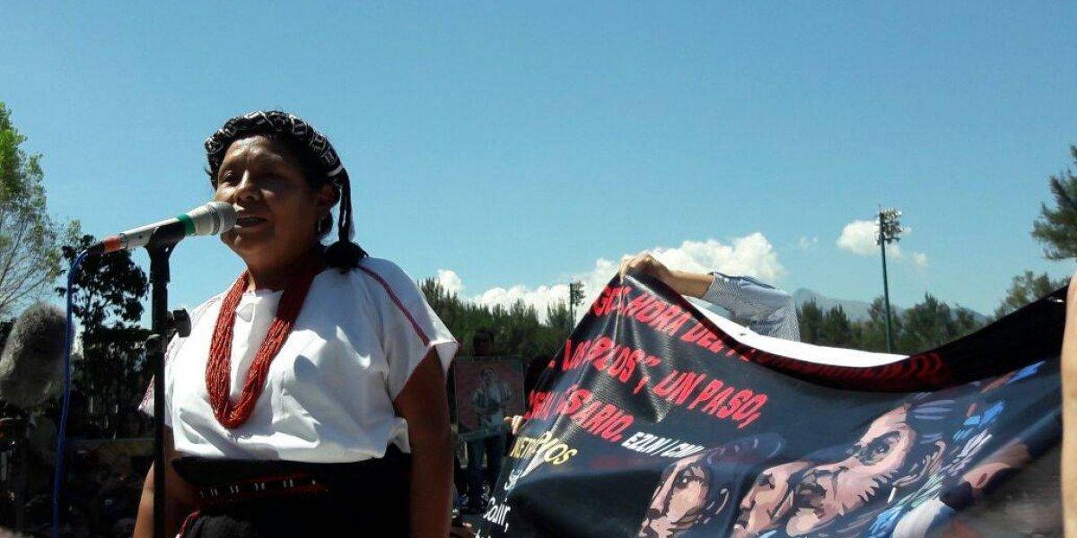 Se registra 'Marichuy' como aspirante a la Presidencia; representa al EZLN