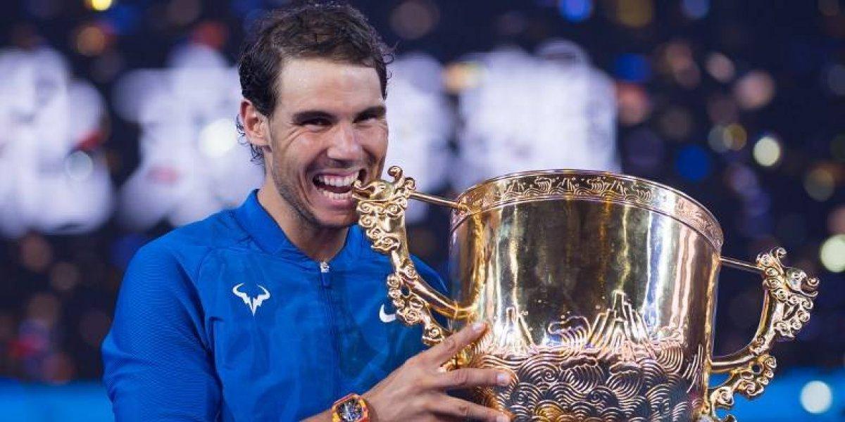 Rafael Nadal se luce en Beijing y llega entonado para ganar su primer Masters de Londres