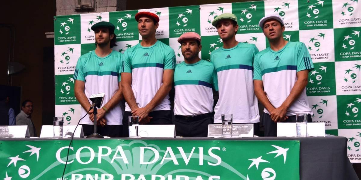 México volverá a Grupo Mundial en Copa Davis en cinco años: Lavalle