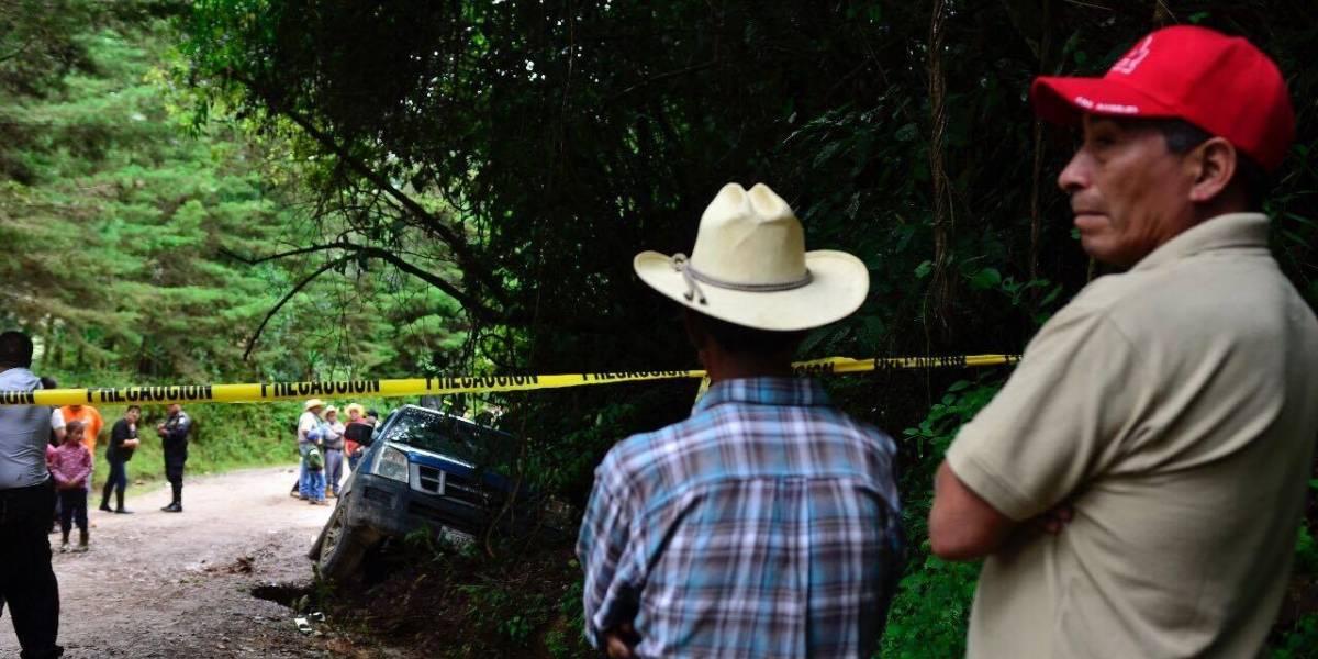 Emboscan y acribillan a primo de alcalde de San José Pinula