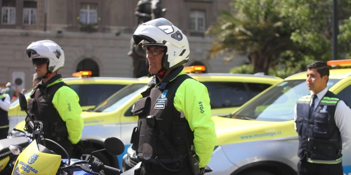 """Municipalidad lanzó el plan """"Santiago + Seguro"""": incorpora 14 nuevos vehículos"""