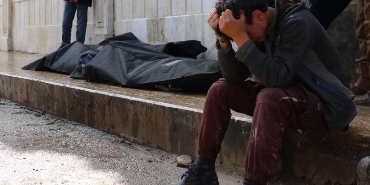 Bombardeos en mercado sirio deja al menos 11 muertos