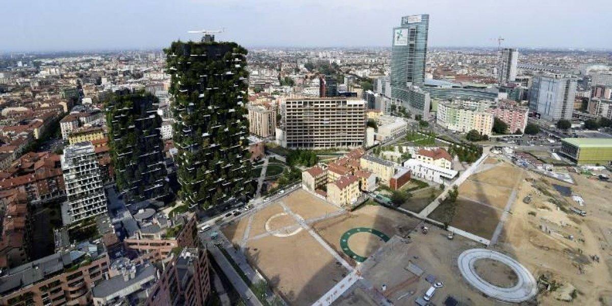 EN IMÁGENES. Los bosques verticales de Milán traspasan fronteras