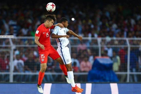 Chile sufrió ante la evidente superioridad futbolística de Inglaterra / Foto: fifa.com