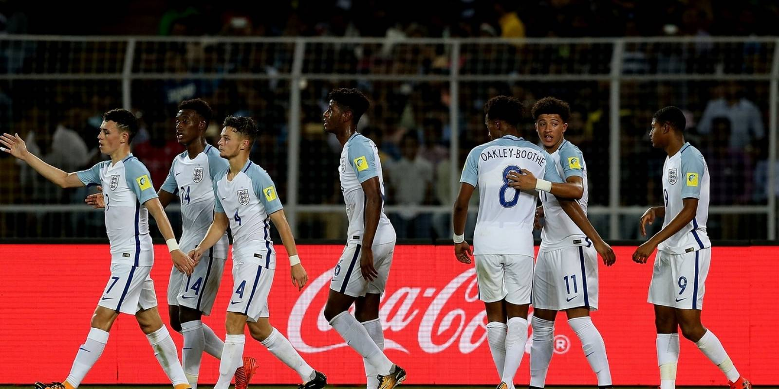 El equipo inglés se mostró sólido y brilló al ritmo de Jadon Sancho (11) / Foto: fifa.com