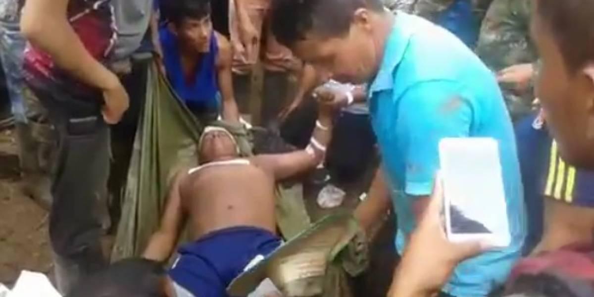 Los indignantes videos de la masacre de campesinos en Tumaco