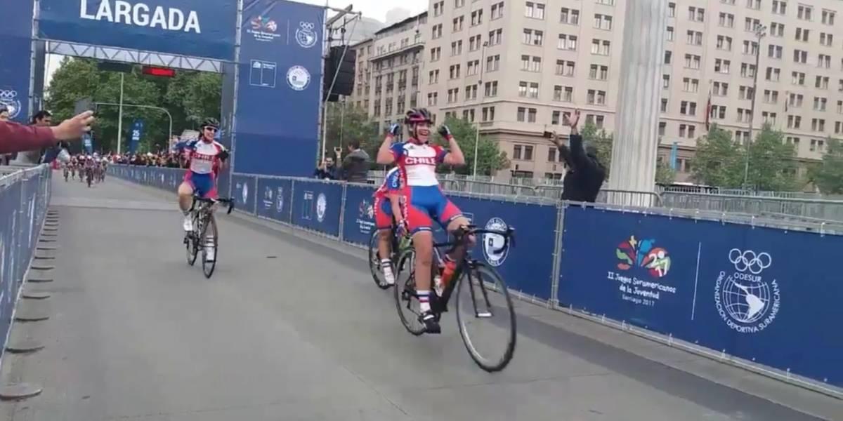 Se lucieron las chiquillas: Chile gana el podio completo en ciclismo y suma 19 oros