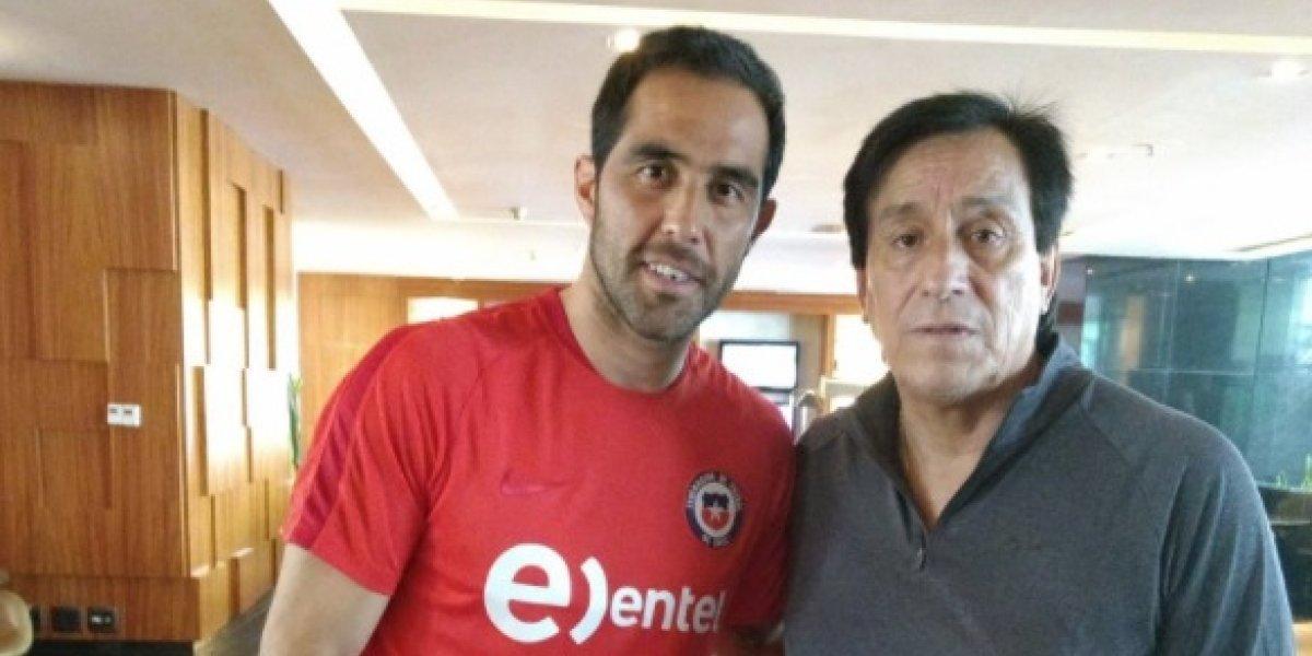 """Roberto Cóndor Rojas compartió con la Roja y mandó su aliento: """"Saben jugarle a Brasil"""""""