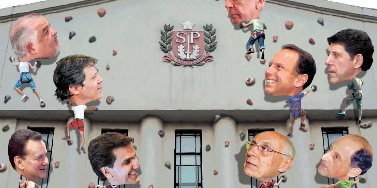 Pré-candidatos enfrentam disputas internas pelo governo do Estado de São Paulo