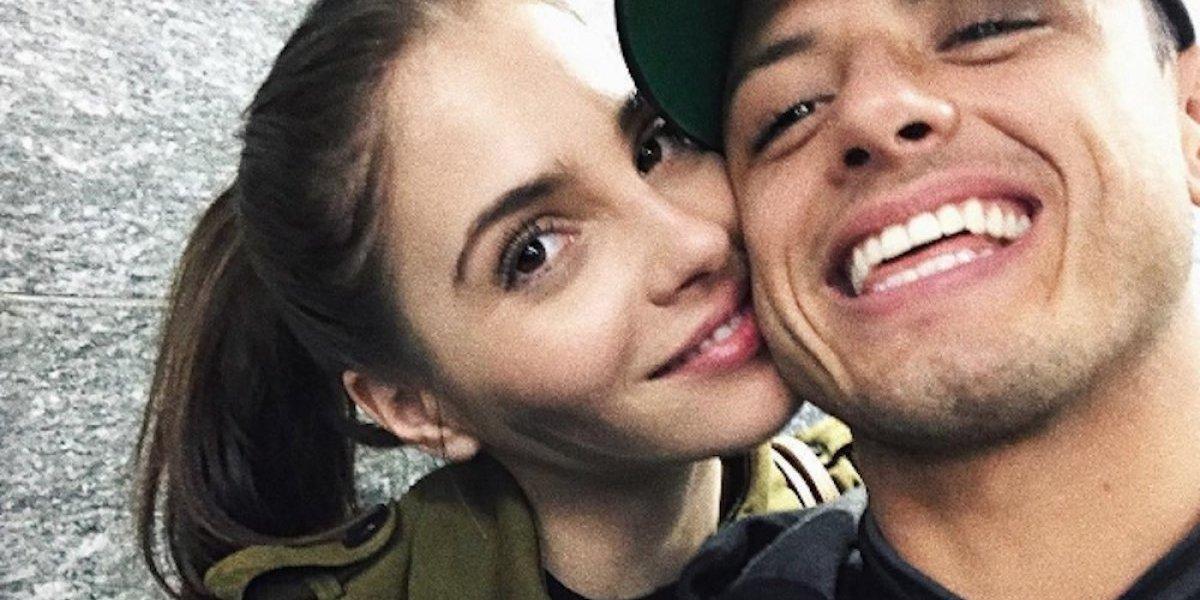 Chicharito desmiente rumores sobre posible regreso a España para estar cerca de su novia