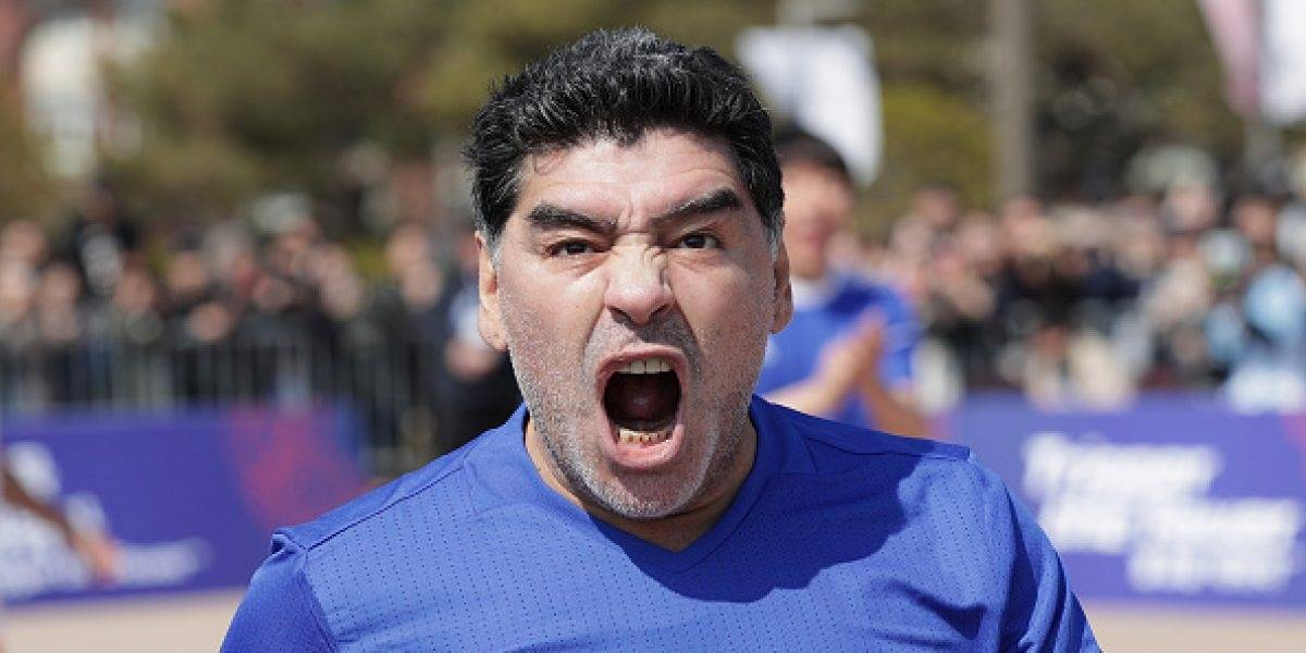 VIDEO: Maradona y el 'emotivo' mensaje a su equipo antes de jugar