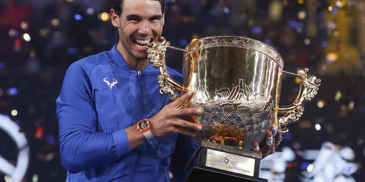 Nadal conquista su sexto título del año en Beijing