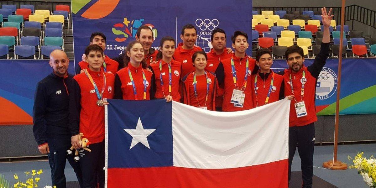 Chile se superó y terminó cuarto en los Juegos Suramericanos de la Juventud 2017