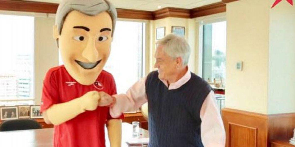 Piñerín: La particular historia del corporeo de Piñera que apoyó a la selección