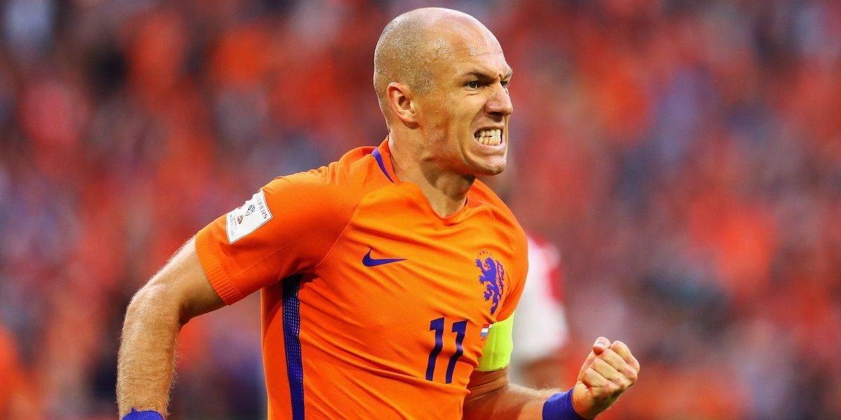Robben, resignado a no ir al Mundial de Rusia 2018