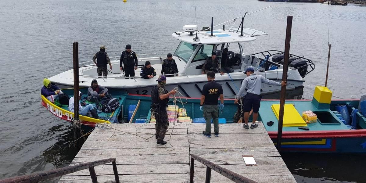 """Incautan cargamento de cocaína en embarcación denominada """"Salmo-91"""""""