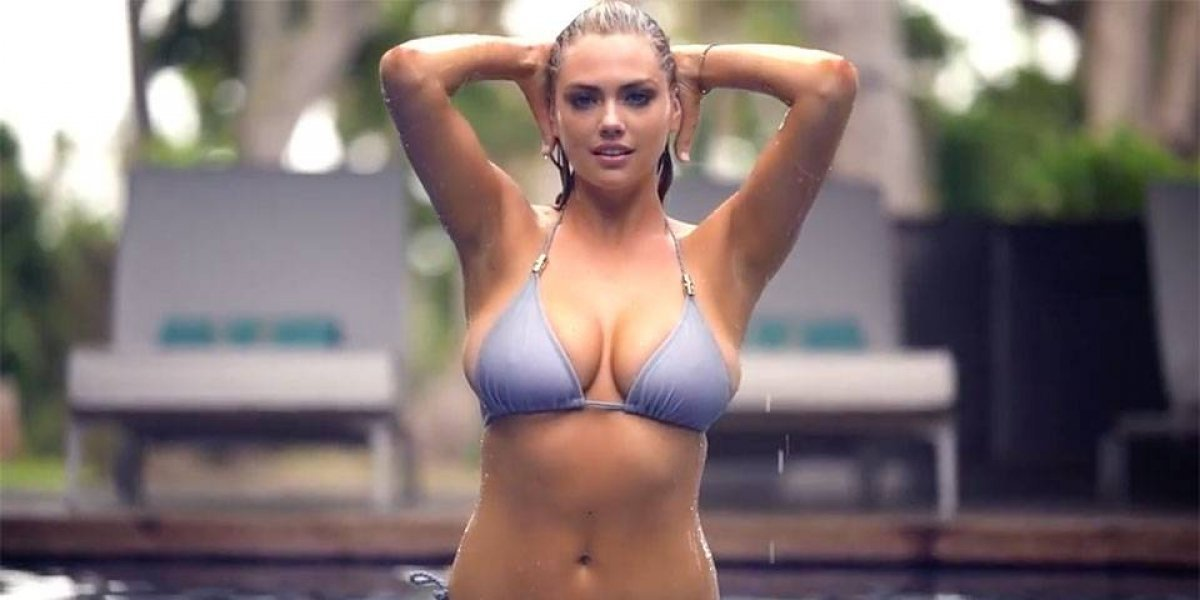 Kate Upton deslumbra en video nunca antes visto