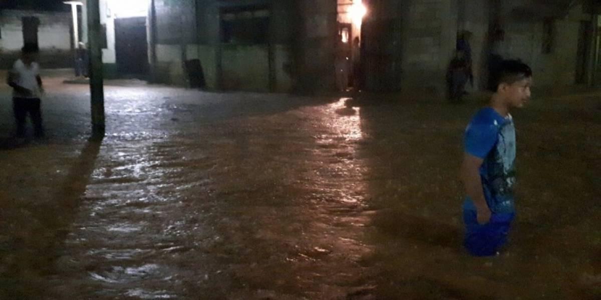 Lluvias dejan un muerto y 62 mil afectados en Guatemala
