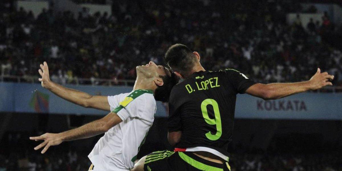México debuta con empate ante Irak en el Mundial Sub 17