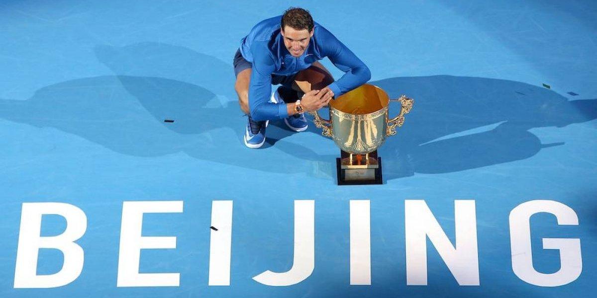 Rafael Nadal se corona en China 12 años después