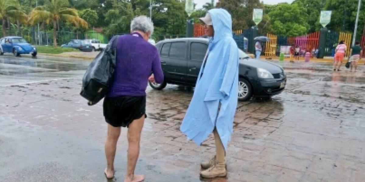 Continuarán fuertes lluvias en el sur del país