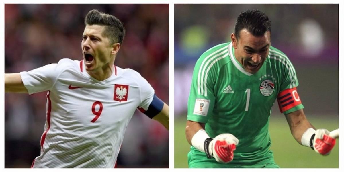 Polonia y Egipto se clasifican para el Mundial de Rusia 2018