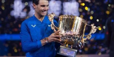 Rafael Nadal gana el Abierto de China 2017