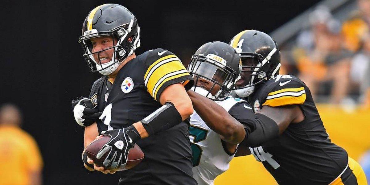 Jaguars interceptan 5 veces a Roethlisberger y propinan paliza a Steelers