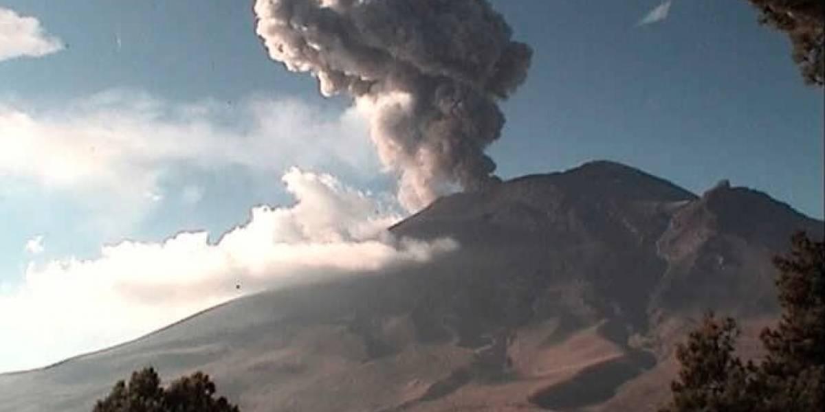 Popocatépetl ha registrado 88 exhalaciones y cuatro explosiones