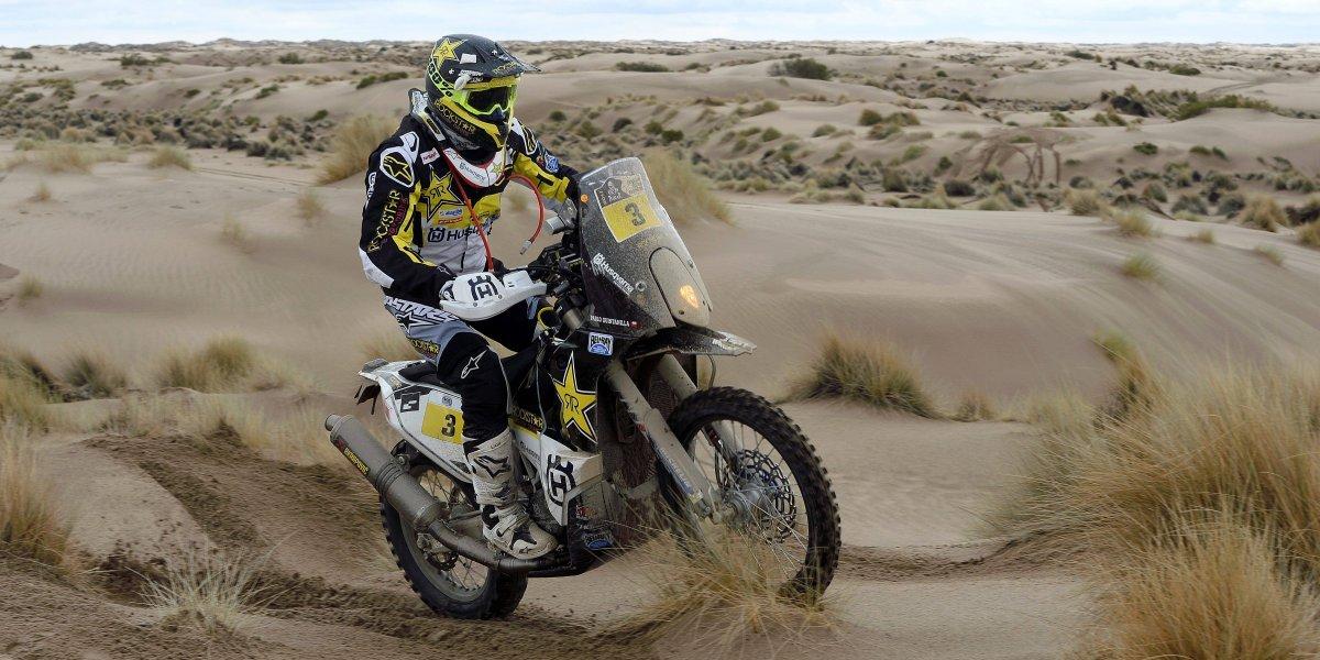 Pablo Quintanilla se prueba la corona del Rally de Marruecos