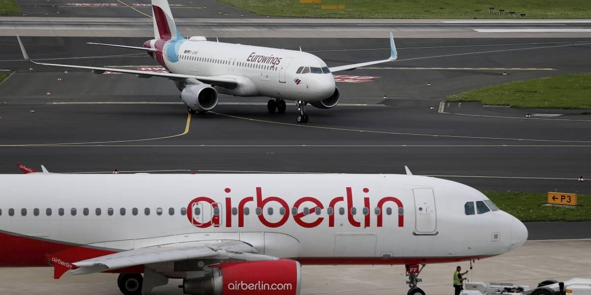 Air Berlin suspenderá operaciones el próximo 28 de octubre